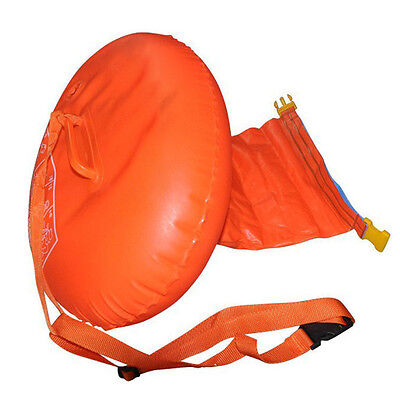 Sports Safety Swim Device Upset Inflated Buoy Flotation Open Water Sea