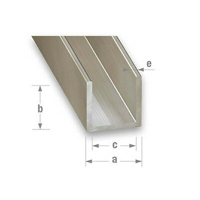 Stainless Steel 304L Grade Channel/U-Channel - Various Sizes & Thicknesses
