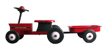 Great Gizmos - Children's Red Tractor With Trailer Ride On (1+ Years)