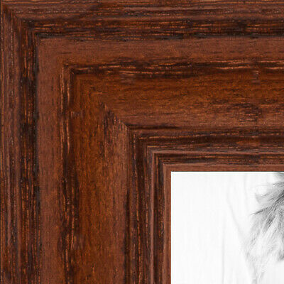ArtToFrames 1.25 Inch Walnut Stain on Oak Wood Picture Poster Frame ATF-59504