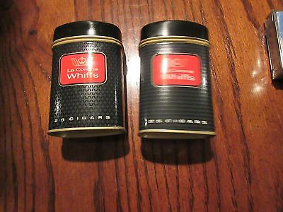 "Tins, Promotional, Lot of 2, ""La Corona Whiffs"" 25 Cigars Is Written On Tin"
