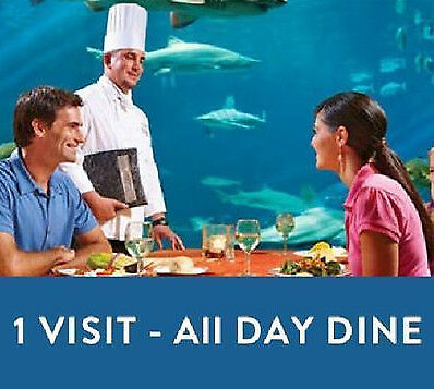 SEAWORLD ORLANDO 1-DAY VISIT w/ALL DAY DINE TICKET SAVINGS PROMO DISCOUNT TOOL