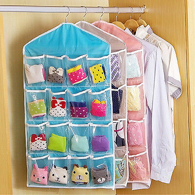 Multi-role Hanging Bag Sock Bra Underwear Rack Hanger Storage Organizer Popular