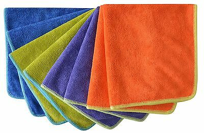 Microfiber Towel Car Wash Cleaning Auto Detailing Kitchen Cleaning Cloths 350...