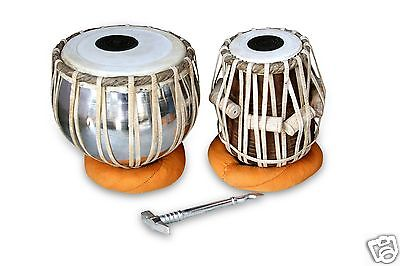 Handmade Professional Tabla Drums Set Iron Bayan Shesham Wood Dayan Tabla Rh0011