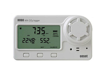 Onset HOBO MX1102 Bluetooth Carbon Dioxide, Humidity and Temperature Data Logger
