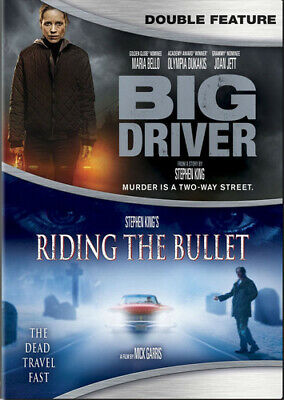 Big Driver / Stephen King's Riding The Bullet (2016, DVD NUEVO)2 DISC (REGION 1)
