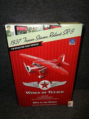 2012 Wings of Texaco Airplane #20 1937 STINSON RELIANT SR-9 REGULAR