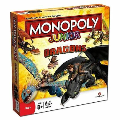 Junior Monopoly - How To Train Your Dragon Board Game
