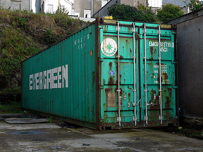 40 HC shipping container storage container conex box in Houston, TX