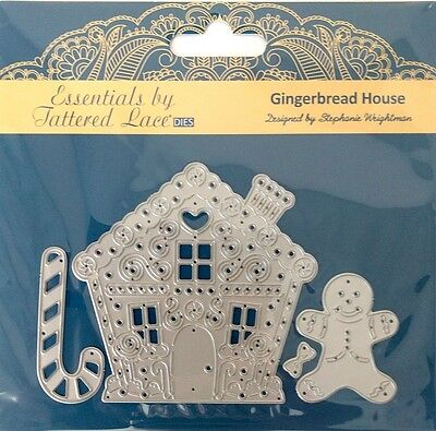 Tattered Lace Gingerbread House Cutting Die ETL156