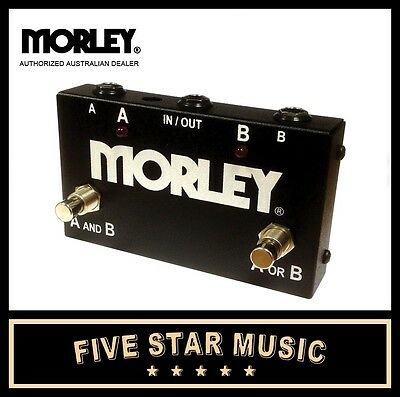 Morley Aby Switcher Swithcing/routing Guitar Pedal - Brand New Morely