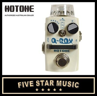 Hotone Qbox Digital Auto Envelope Filter Mini Guitar Effects Pedal Ho-Qbox - New