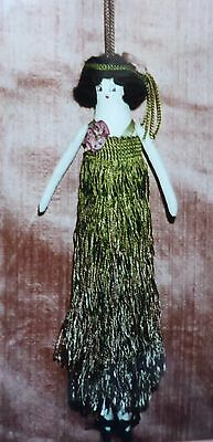 "Anne's Glory Box ""Sassy"" A Tassel Doll Sewing/Patchwork/Craft/Cloth Pattern"