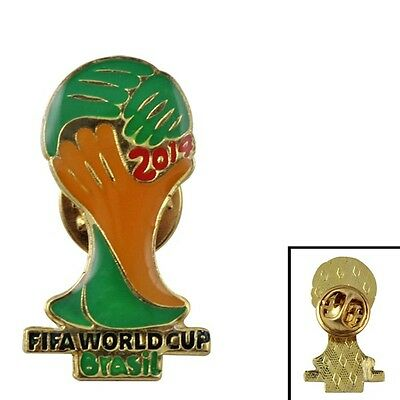 2014 FIFA  World Cup In Brazil Emblem Metal Badge Pin Brooch Brand New