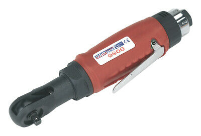 """Sealey GSA634 Compact Air Ratchet Wrench 1/4""""Sq Drive"""