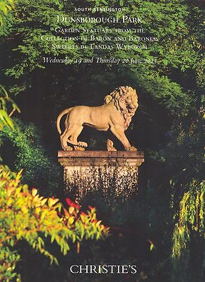 Christie's Catalogue Dunsborough Park Garden Statuary 2013  HB