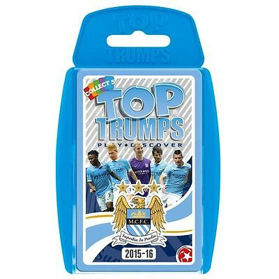 Top Trumps - Man City 2015/16 Card Game