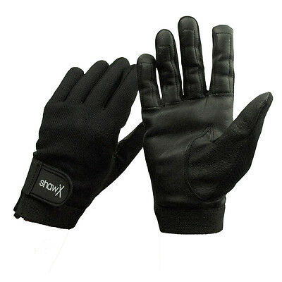 Shaw drum gloves pair Soft goat skin leather with breathable fabric M