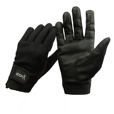 Shaw drum gloves pair Soft goat skin leather with breathable fabric S