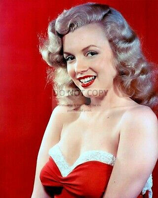 Marilyn Monroe Iconic Actress & Sex-Symbol - 8X10 Early Publicity Photo (Op-012)