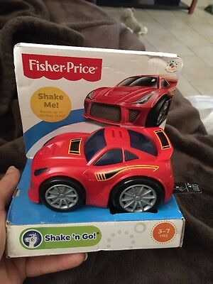 Fisher-Price Shake 'n Go Vehicle Racers, Exotic Racer