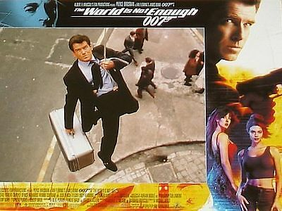 James Bond 007 THE WORLD IS NOT ENOUGH 11x14 US Lobby Cards Set - Pierce Brosnan