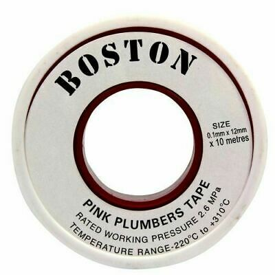 BOSTON Pink Plumbers Tape 12mmX10m