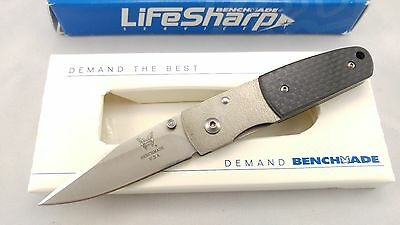 Benchmade 330-01/00 Pardue Knife - ATS-34 Steel w/CF- January Knife of the Month