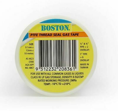 APEX High Density Teflon Gas Tape 12mmX10m
