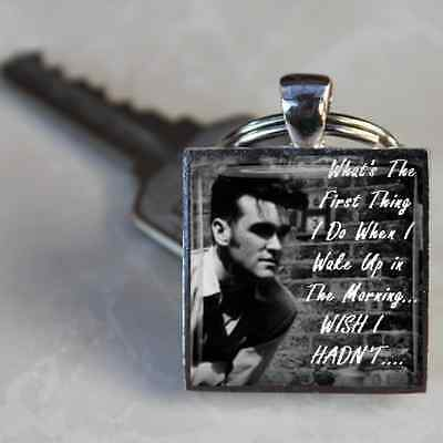 Morrissey keyring Smiths Keyring Lyrics Handmade in the UK by Dandan Designs