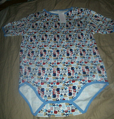 Adult Baby Romper Onesie Snap Closure. ABDL  private listing Diaper shirt