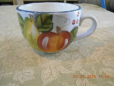 HERITAGE MINT Black Forest Fruits Dinnerware JUMBO MUG