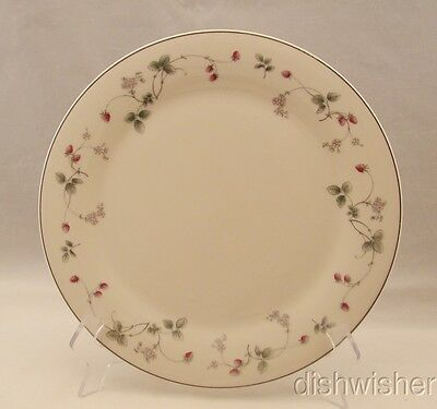 """Royal Doulton Expressions STRAWBERRY FAYRE PINK Dinner Plate(s) 10 3/4"""""""