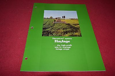 A.O. Smith Harvestore High Moisture Haylage Dealer's Brochure DCPA4