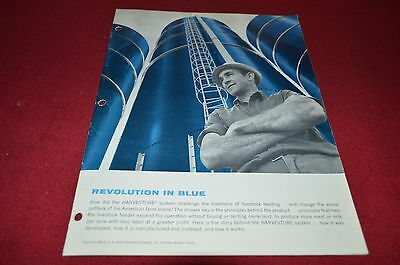 A. O. Smith Harvestore Revolution In Blue For 1969 Dealer's Brochure DCPA4