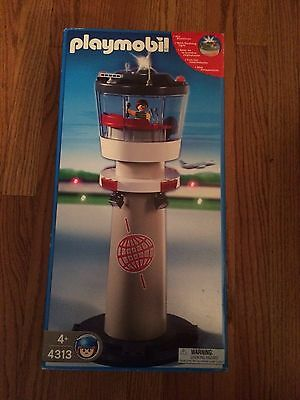 Playmobil 4313 Airport Control Tower New in Box!
