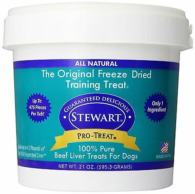 Stewart Freeze Dried Treats 21 oz. Beef Liver, New, buy from a veterinary clinic