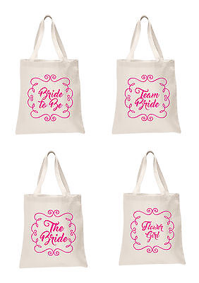 Wedding Favour Large Tote Bags Printed Gift Present bridesmaid Hen Do Party Bag