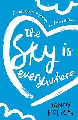 Jandy Nelson ___ The Sky Is Everywhere __ Blue Cover __ Brand New __ Freepost Uk