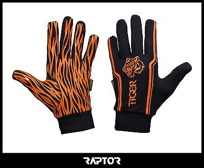 Mini/Junior Tiger Rugby Full Grip Gloves/Stick Mits/Mitts Large Boys/XS 11-12yrs