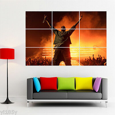 Kanye West Poster Giant Wall Decal Art