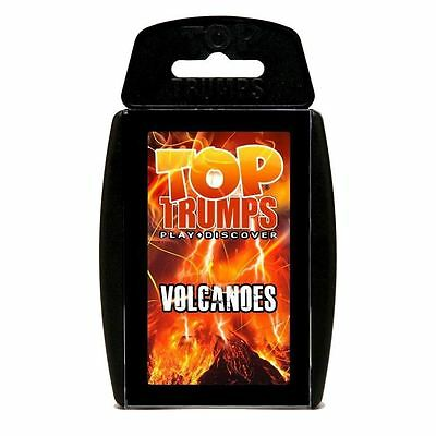 Top Trumps - Volcanoes Card Game