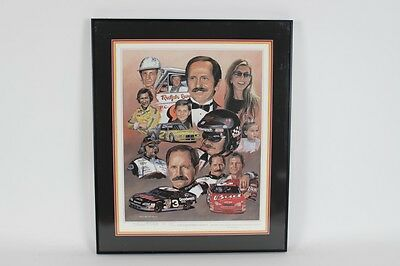 """""""THE EARNHARDT LEGACY"""" 26×31 Print Signed by GEORGE WRIGHT Artist Proof- COA"""