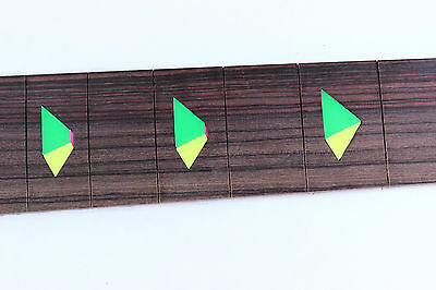 Maple or Rosewood Pyramid Fingerboard - Fits Ibanez (tm) RG Jem Necks