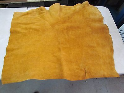 """Native American Dark Home Tanned Stunning Moose Hide Soft 36"""" In By 28"""" In"""