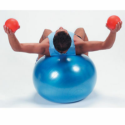 PELOTA PILATES BALON FITNESS BODY FITBALL para hacer ABDOMINALES y TONIFICACION