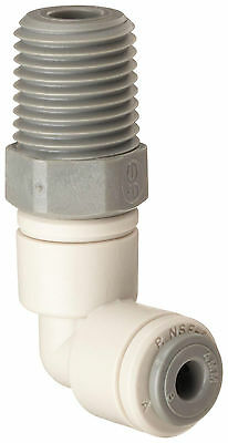 "Celcon Acetal ""Push to Connect"" - Swivel Male Elbow, 3/16"" Tube x 1/8"" NPT 25PK"