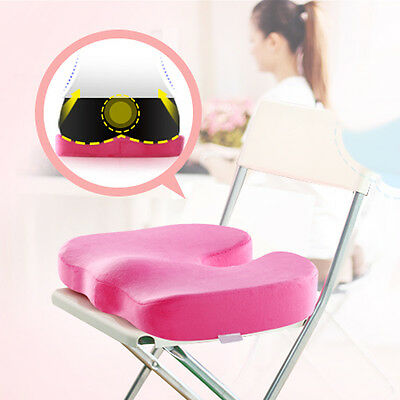 Coccyx Orthopedic Seat Cushion Lumbar Support Comfort Memory Foam Pillow 4 Color