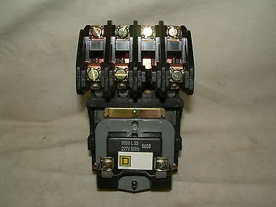 SQUARE D 8903LO30V04 Lighting Contactor  277v 30A Open Type  3pole  NEW IN BOX